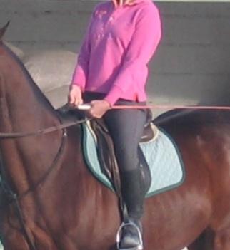 Riding stiff arms